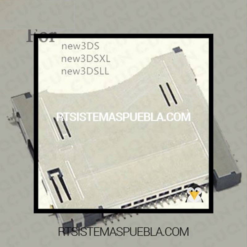 Cambio de Ranuras para tarjetas de juego para NEW 3DS Puebla