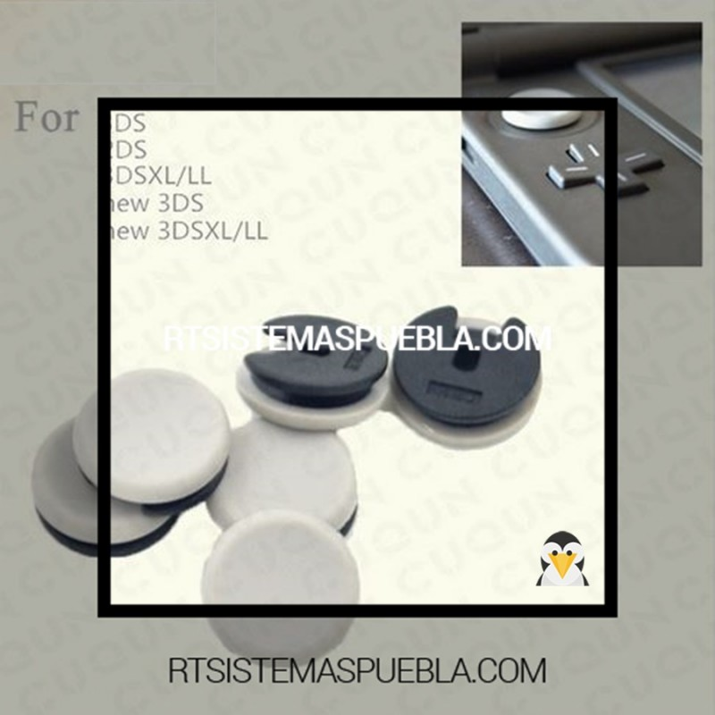 Joystick cubre polvo para  nintendo • 2DS / XL • 3DSXL • NEW3DS / XL • NEW2DS / XL puebla